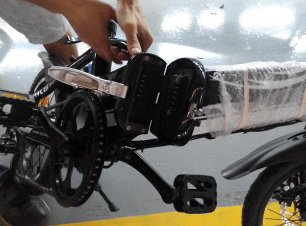 台铃电动车锂电池在锂电车的使用图片
