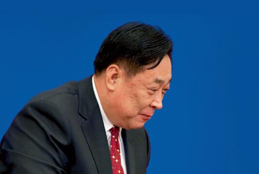 张力军从环保部副部长任上退休两年多后,被中纪委宣布接受组织调查。资料图