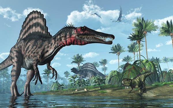 因为《侏罗纪公园》,霸王龙十分受媒体欢迎.