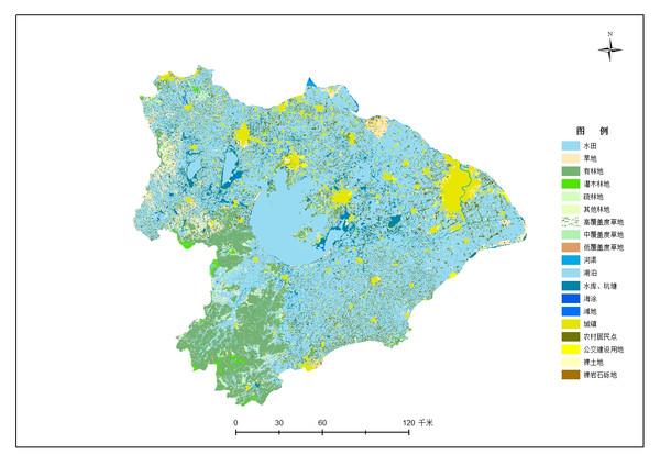 南京师范大学矢量土地利用数据加工技术服务