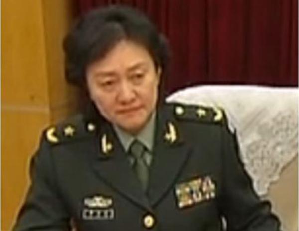 原文配图:总装司令部原副参谋长李岩岩。
