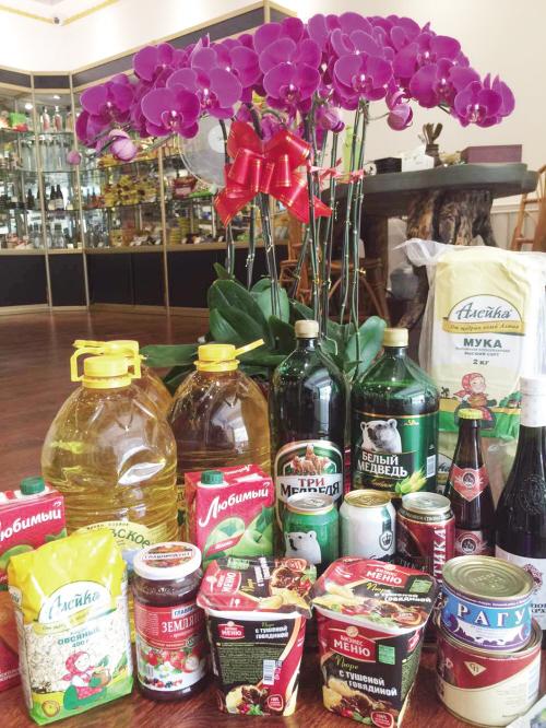 俄罗斯食品满百送四十图 普京俄罗斯姑娘最漂