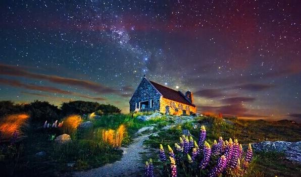 手可摘星 新西兰最美的星空