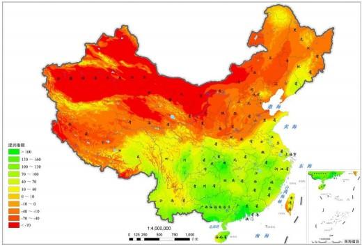 做爱操穴湿润图_解决方案——遥感,气象数据的湿润指数获取及分析