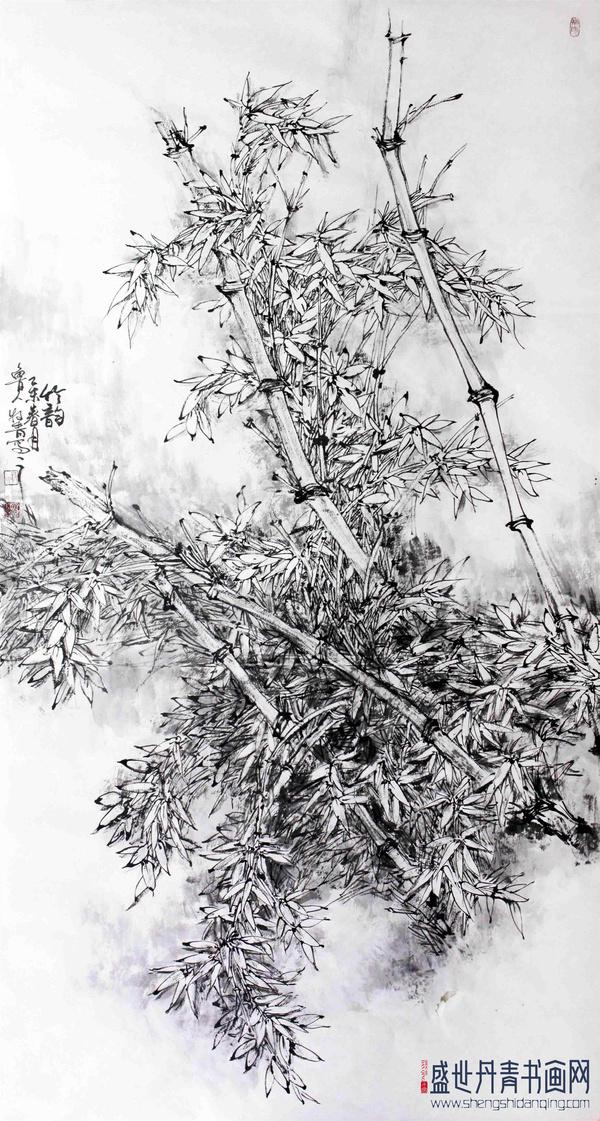 国画 简笔画 手绘 线稿 600_1121 竖版 竖屏
