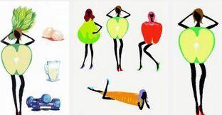 易胖体质减肥食谱一日三餐计划表图片