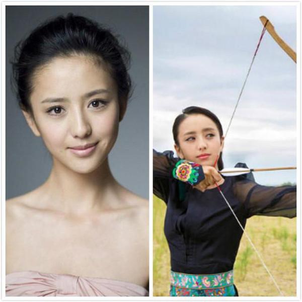 刘诗诗佟丽娅蒋欣领衔十大少数民族美女明星