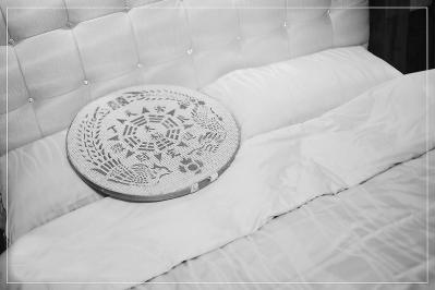 喜床上的米筛台语喻美胎。