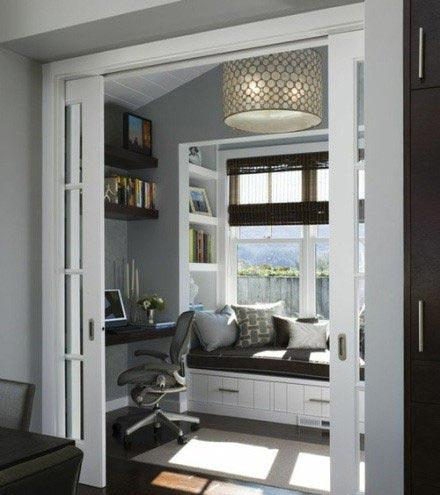 阳台居然可以改造成书房,餐厅,吧台,卧室