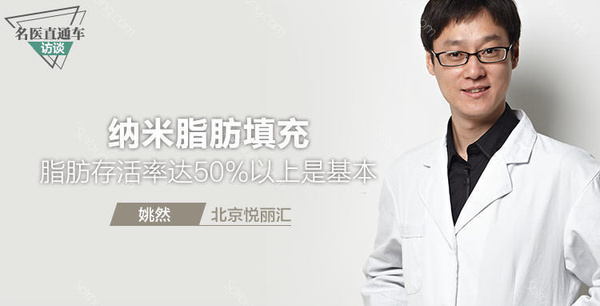 姚然医生谈纳米脂肪填充