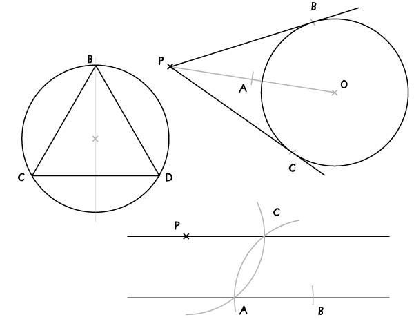 设计中的手绘几何图案作图法