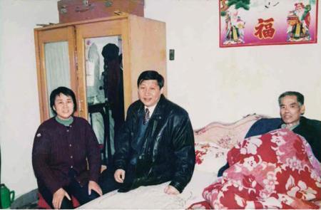 1997年2月7日,习近平和贾大山最后一次见面,这也是两人最后一张留影。