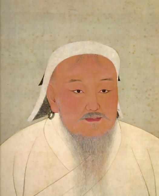 成吉思汗肖像
