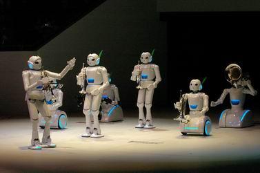人工智能机器人_组图人工智能超越极限机器人足球世界杯美