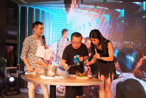 主持人路易携手仁吉上海探访美食夏日锡伯族的美食图片