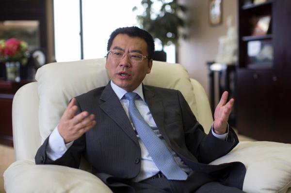 恒丰银行新一任行行长林治洪。 CFP 图