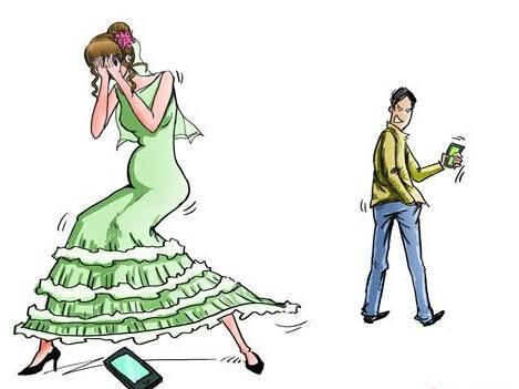 情侣海边手拉手散步卡通图图片展示