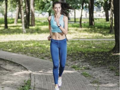 早晨慢跑运动时间最佳瘦身减肥最好的效果图片