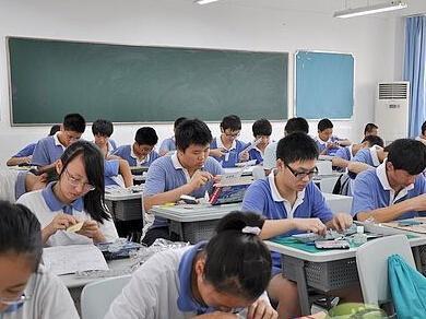 深圳校高级中学初中_深圳市第二高级中学校学费比高中迟吗放假图片