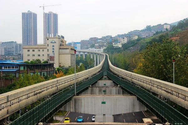 观音桥步行街,重庆年轻的新地标