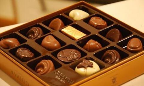 七夕节礼物:手工巧克力图片
