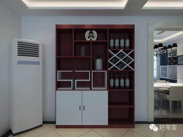 家装墙体酒柜效果图