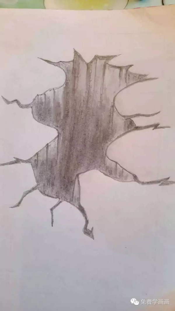 21号: nan(^з^):很像动画片里的黑洞哦,涂色要注意亮灰面的体块变化