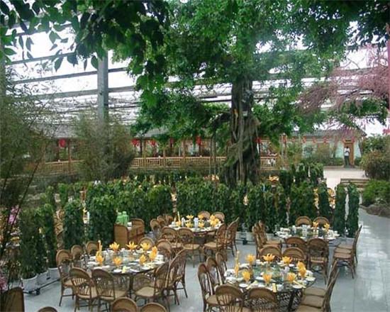 异形温室型生态餐厅
