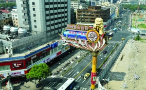 预计最快国庆节后,湖南路路面将全面封闭施工 现代快报记者 赵杰 摄