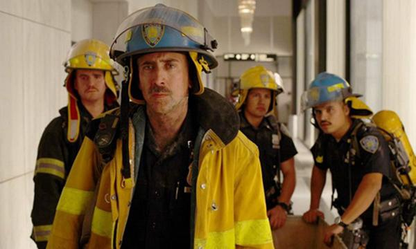 美国影星尼古拉斯凯奇也曾出演救火员。