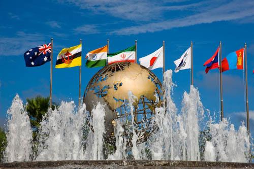 2015世界企业高尔夫中国挑战赛在博鳌大酒店启动