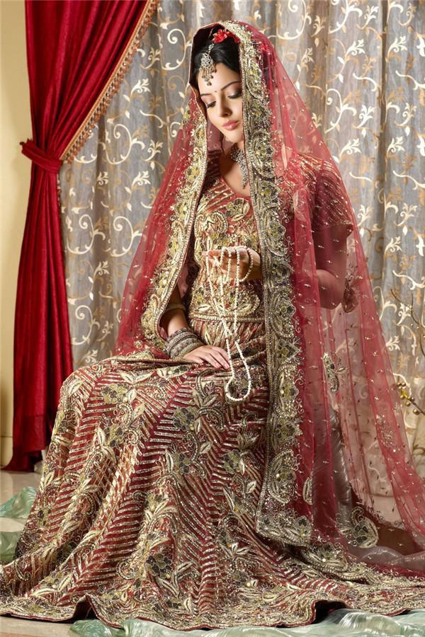 印度服饰手绘图片
