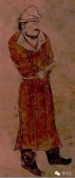 读唐章怀太子墓 西客使图 壁画