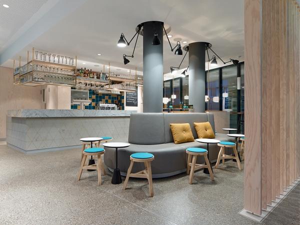 小餐馆吧台内部结构图