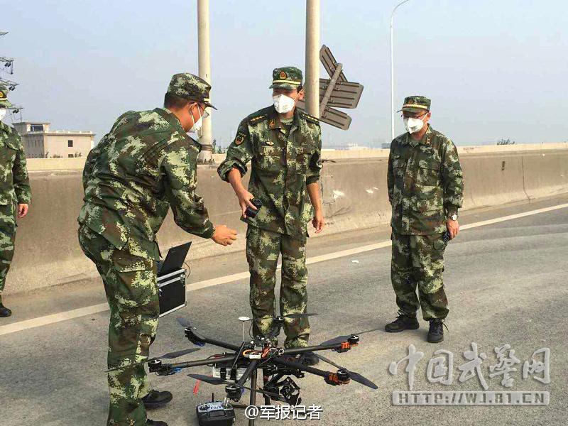 警察六组图无人机侦拍天津v警察核心区(武警)电视剧男主姓向和女主是旋翼图片