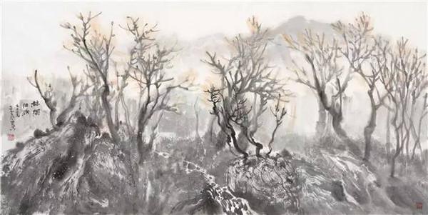 展览丨国画先锋:海阳环保文化行——碧桂园 十里图片