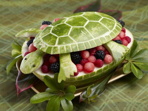 萌萌哒水果动物——你确定它们是水果做的?图片