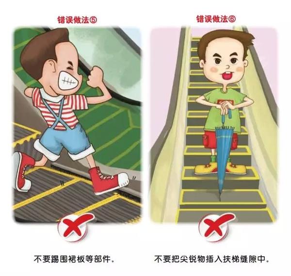 电梯安全乘坐�9�#_萌教授:驼驼,今天这节课咱们就来讲讲小朋友如何安全乘坐电梯吧!