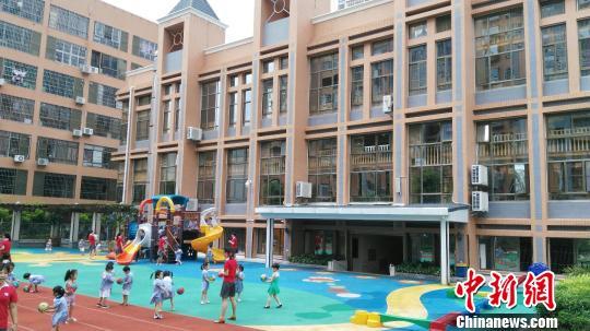 港商返乡创办国际品牌幼儿园:和小朋友一起玩很开心(组图)