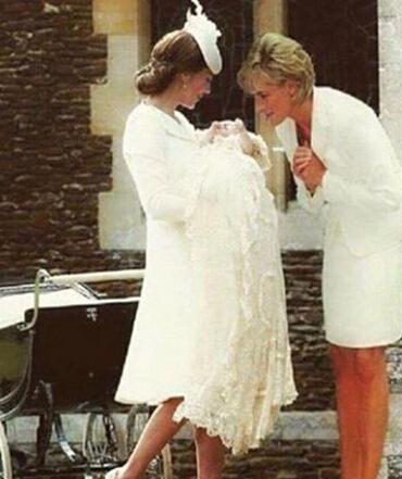 8月19日报道,近日,一张英国已故戴安娜王妃与儿媳凯特王妃重逢