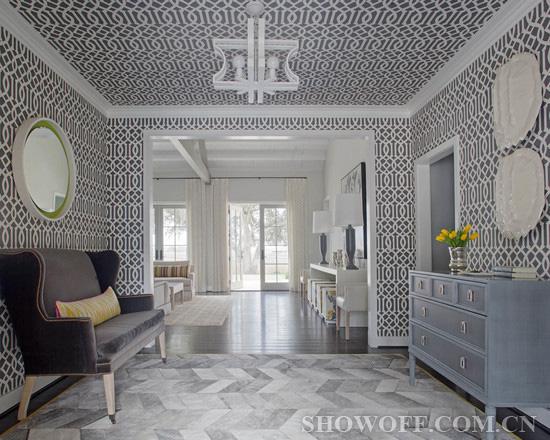 小编的话:欧式别墅的客厅宽敞大气