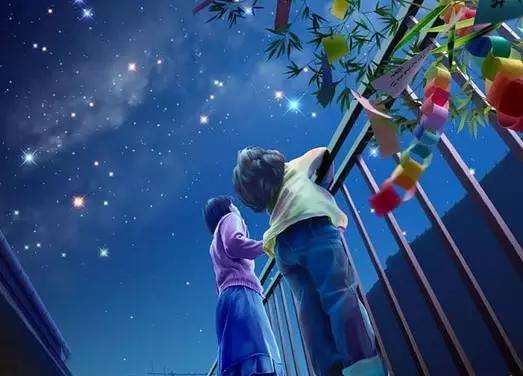 你有多久没在夜晚,仰望过满天繁星图片