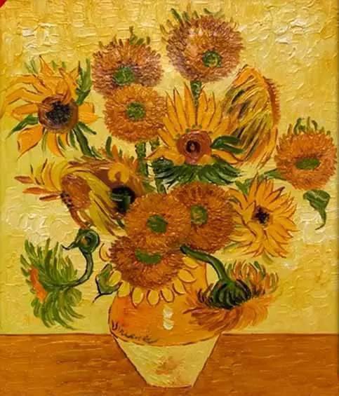 梵高向日葵-原创丨收藏的艺术品一定要稀有罕见