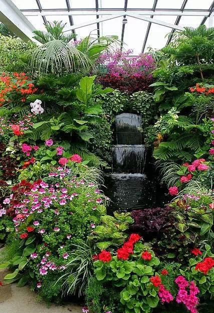 花园_全球最美花园,花开成海了!