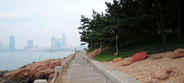 小青岛海滨风光