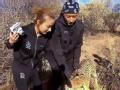 《极速前进中国版第二季片花》第七期 韩庚勇敢直面接触豹子  吴昕摸头赞豹子可爱