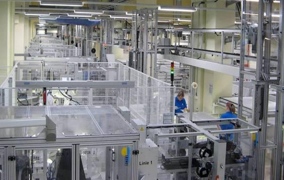 德国工厂高度自动化
