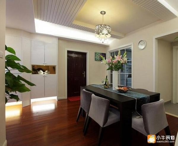105平方房子装修图 这么漂亮的装修客厅竟铺的地板