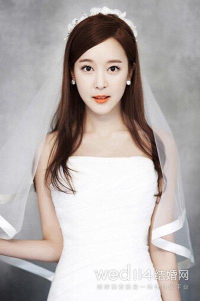 韩式婚纱照新娘造型 十六款浪漫发型任你选