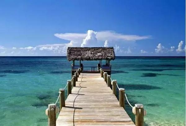 在那遥远的地方——美丽的加勒比海